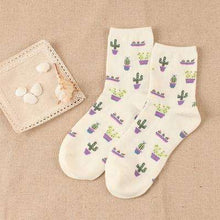 Cactus Socks -  Free People - Bohochic - Music Festival