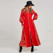 Red Moroccan Nights Dress,bohoartist,[product_vender],Mindful Bohemian