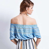 Classic Blusa Chic -  Free People - Bohochic - Music Festival