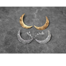 Crescent Moon Earrings -  Free People - Bohochic - Music Festival