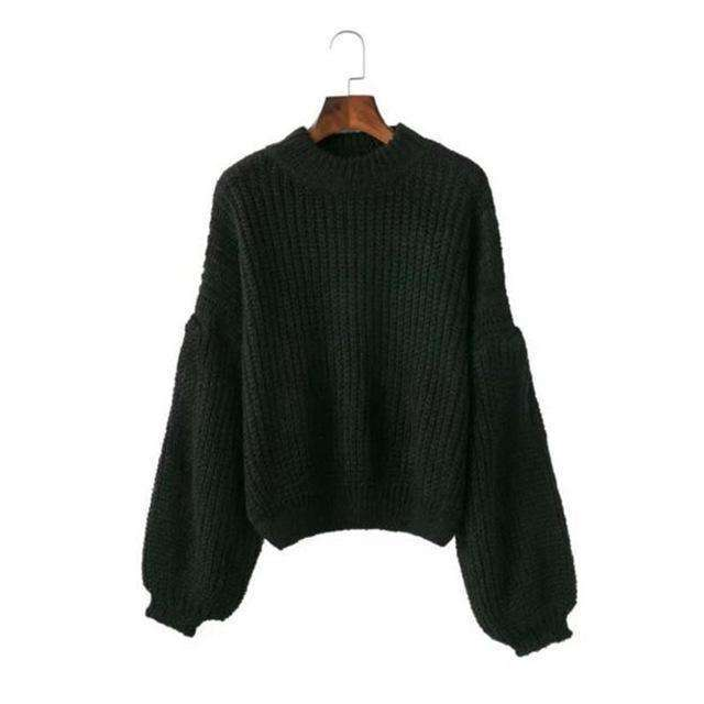 Drop Loose Knitted Sweatersweater