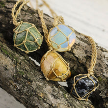 Hippie Wrap Stone Necklace