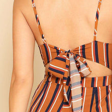 Striped Spaghetti Strap Travel Romper,,[product_vender],Mindful Bohemian