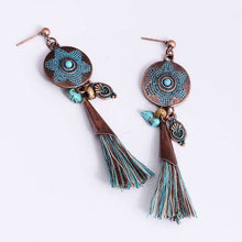 Round Ethnical Drop Earringsearrings