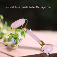 Natural Rose Quartz Roller Massage Toolbeauty tool