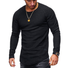 Men's Pleated Long Sleeves