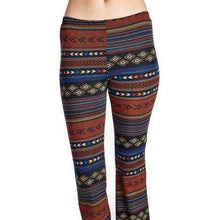 Geo Stripe Flare Pantspants