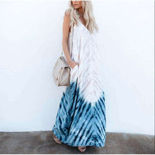 Tye Dye Hippie Chic Long Dressdress