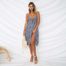 Knot Front Button Up Summer Sun Dress,,[product_vender],Mindful Bohemian