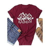 Explore Mountains Topshirt