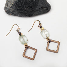 Samantha Vintage Natural Stone Drop Earrings