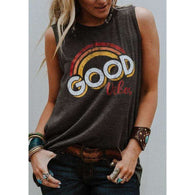 Good Vibes Hippie Tank Top -  Free People - Bohochic - Music Festival