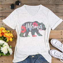 Mama Bear Floral Tee,top,[product_vender],Mindful Bohemian