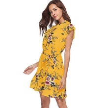 Sunny Chic Floral Dress,dress,[product_vender],Mindful Bohemian