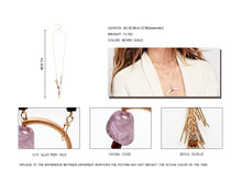 Amelie Handmade Long Chain Necklace