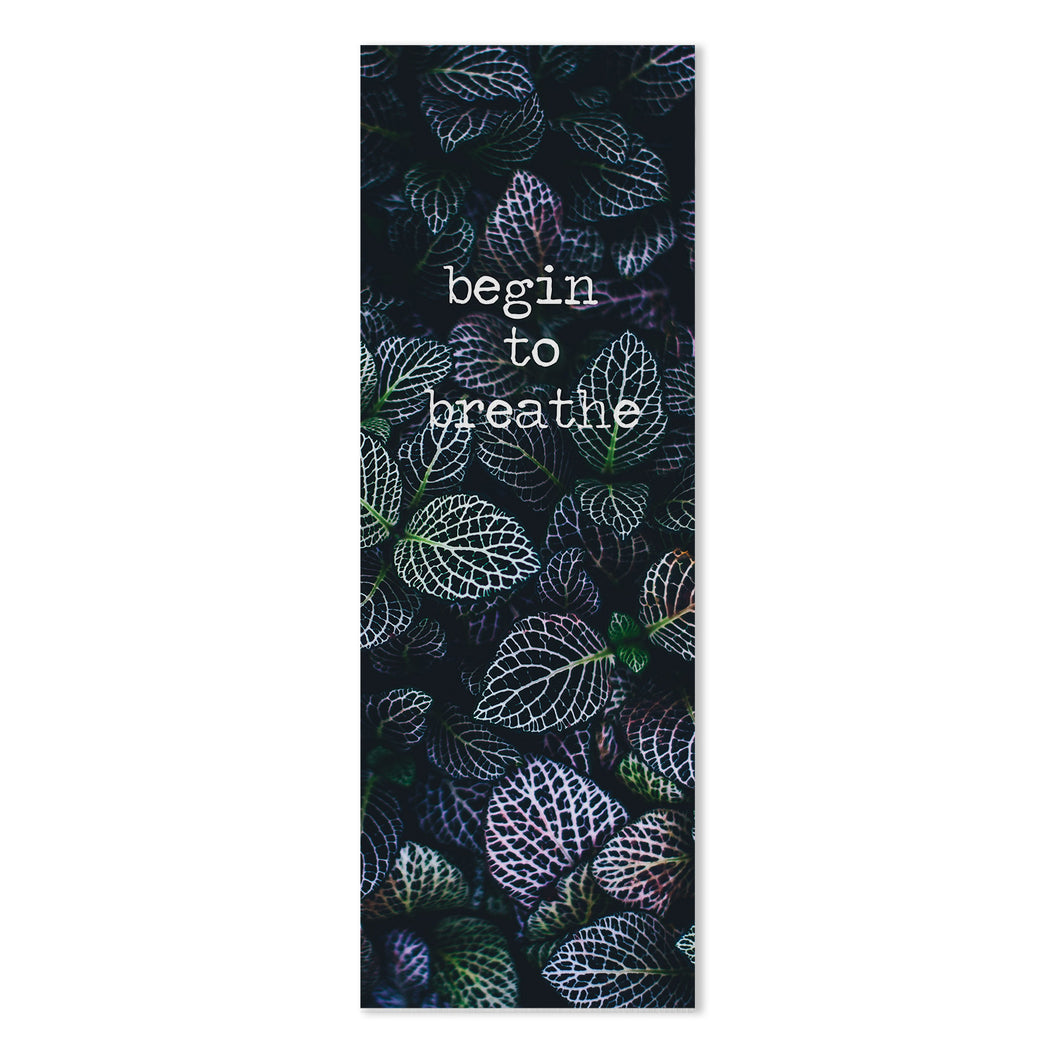 Begin to Breathe Yoga Mat