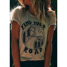 Find Your Road Statement Boho Shirt -  Free People - Bohochic - Music Festival
