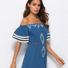Sweet Lady Butterfly Sleeve Day DressDress