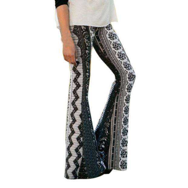 High Waist Hippie Pants -  Free People - Bohochic - Music Festival