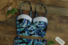 Palms & Florals Wired Two-Piece
