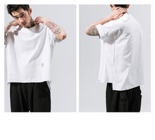 Loose Thin Cotton Linen Shirt