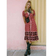 Playful Chic Gypsy Sundressdress
