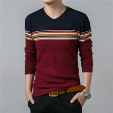 Knitted Stripes Pullover