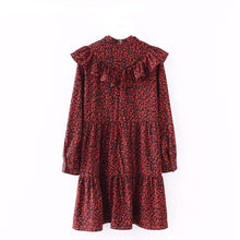 Ruffled Leopard Vintage Mini