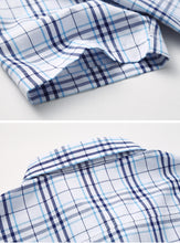 Plaid Casual Men's Top