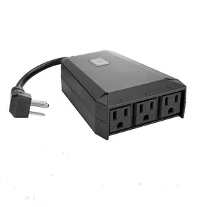 3 Zone IP44 Rated Outdoor Smart Plug