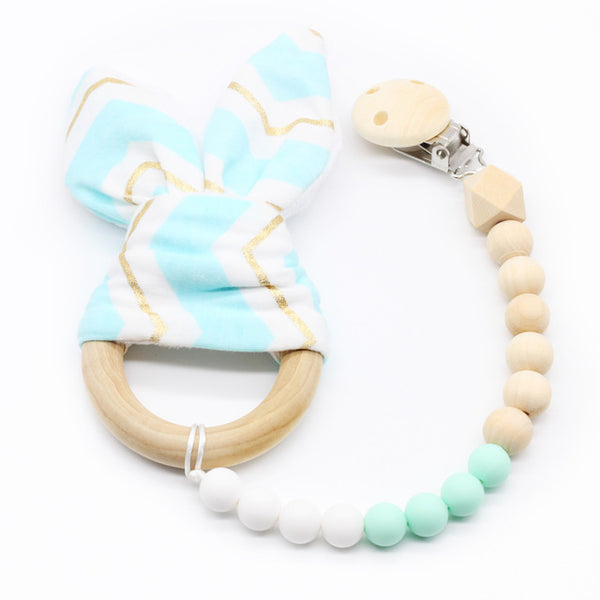 Bunny Ear Teething Toy