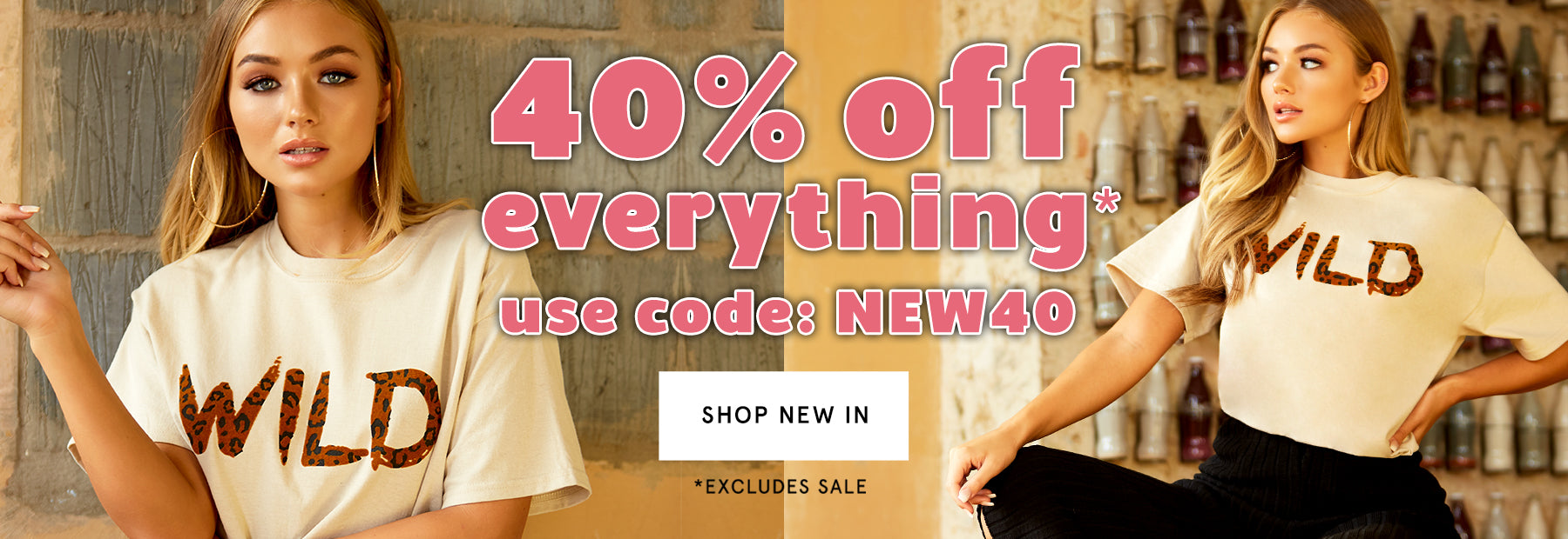 Shop 40% Off Everything