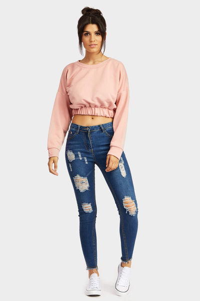 A17W-1200012188-DUE-6-ripped-jeans-dark-blue-jl5716