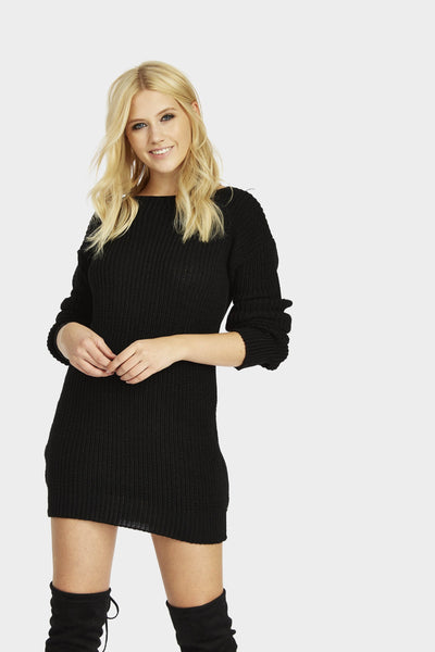 A17W-2700010208-BCK-XS-slouch-neck-jumper-dress-black-jl4862
