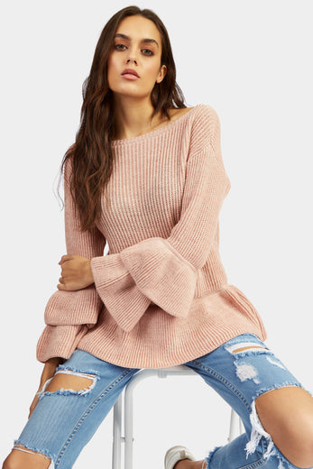 A17W-2700014434-PNK-S/M-double-frill-sleeve-jumper-light-pink-jl6909
