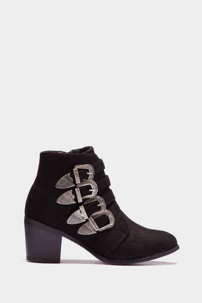 A17W-3000007474-BCK-3-four-buckle-western-style-boot-black-jl3421