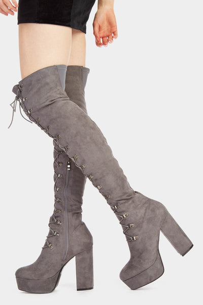 A17W-3000013609-GEY-3-block-heel-platform-knee-high-lace-up-boots -mid-grey-jl6466