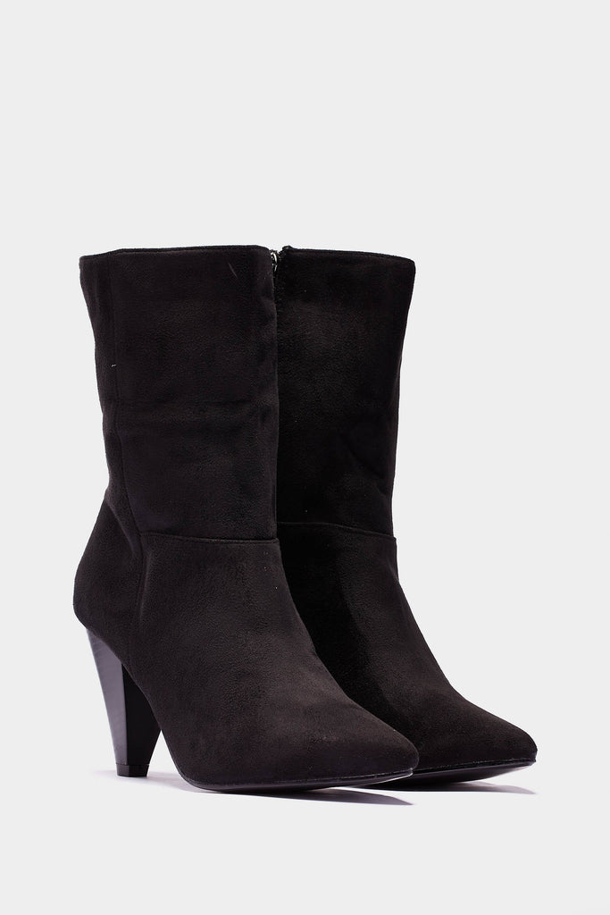 mexican-heel-ankle-boots view 2