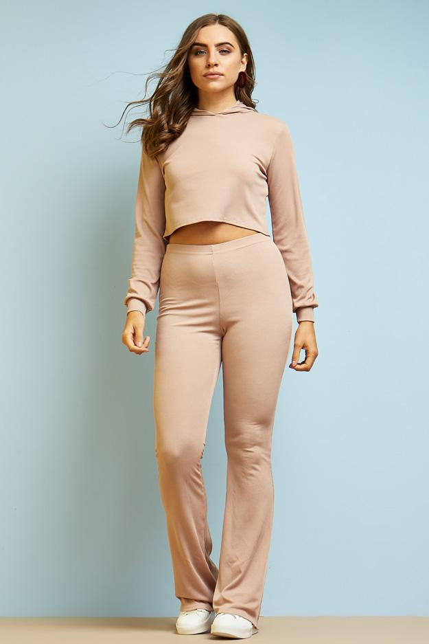high-waisted-ribbed-flared-trousers