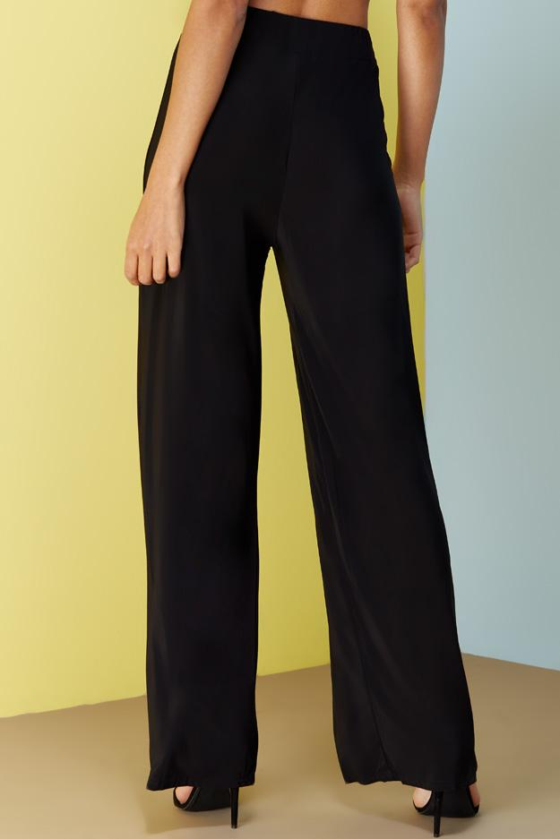 slinky-draw-string-wide-leg-trousers view 2