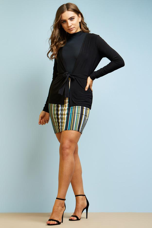 long-sleeve-slinky-jacket-with-belt- view 5