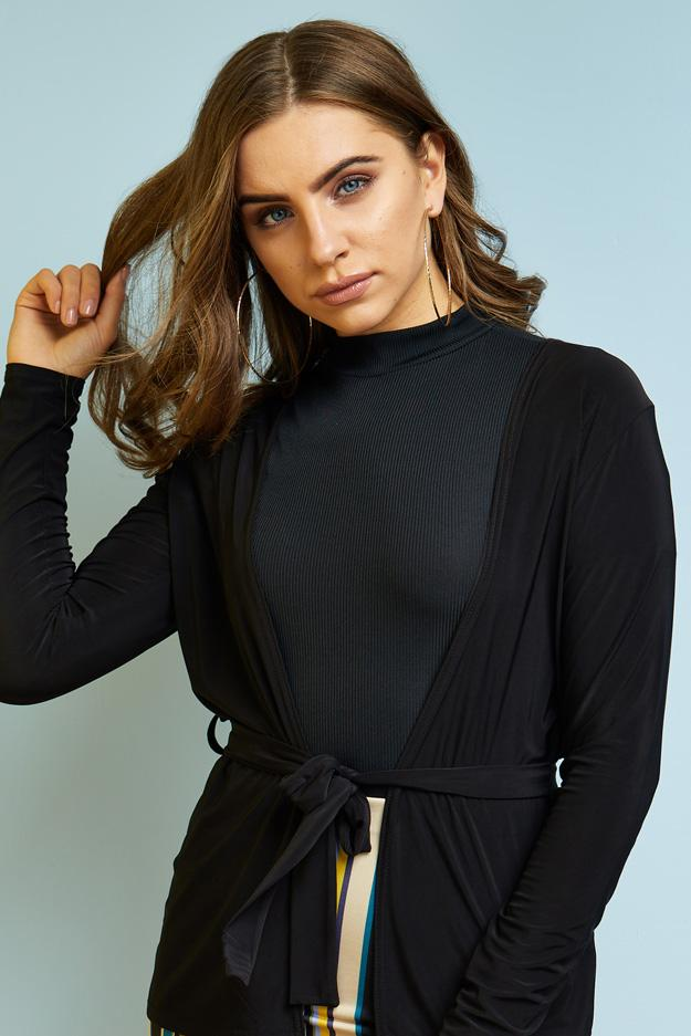 long-sleeve-slinky-jacket-with-belt- view 3