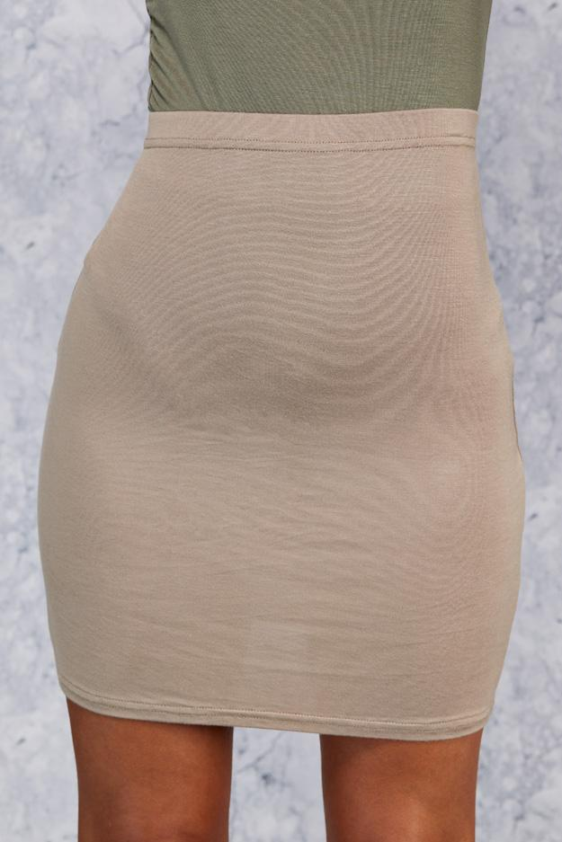 Brown Mini Skirt 5