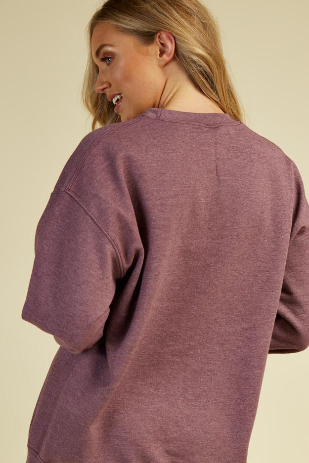 Berry Sweat Top 2 view 2