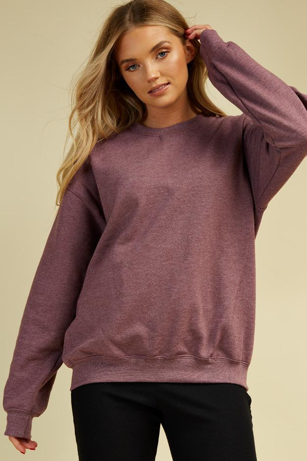 Berry Sweat Top 1 view main view