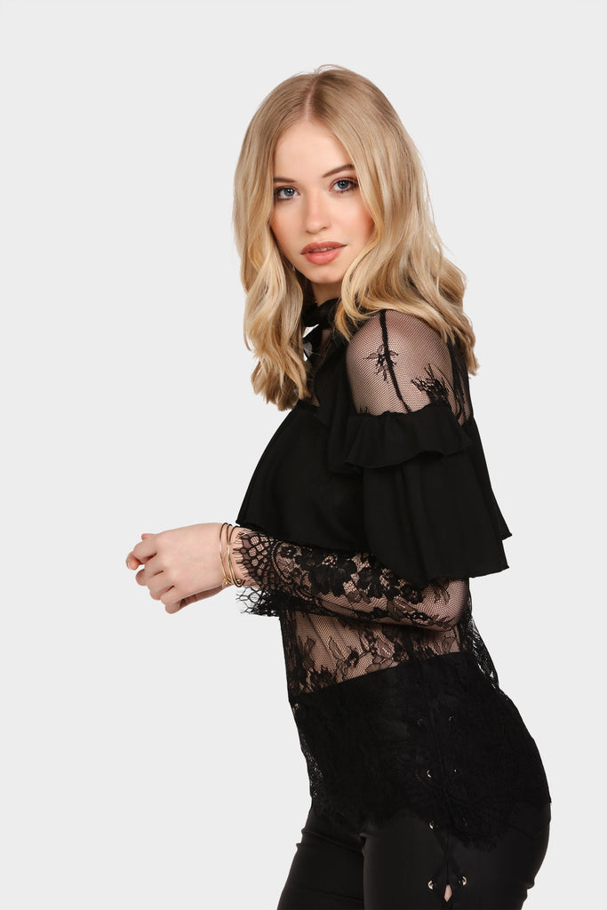 lace-frilly-top view 4