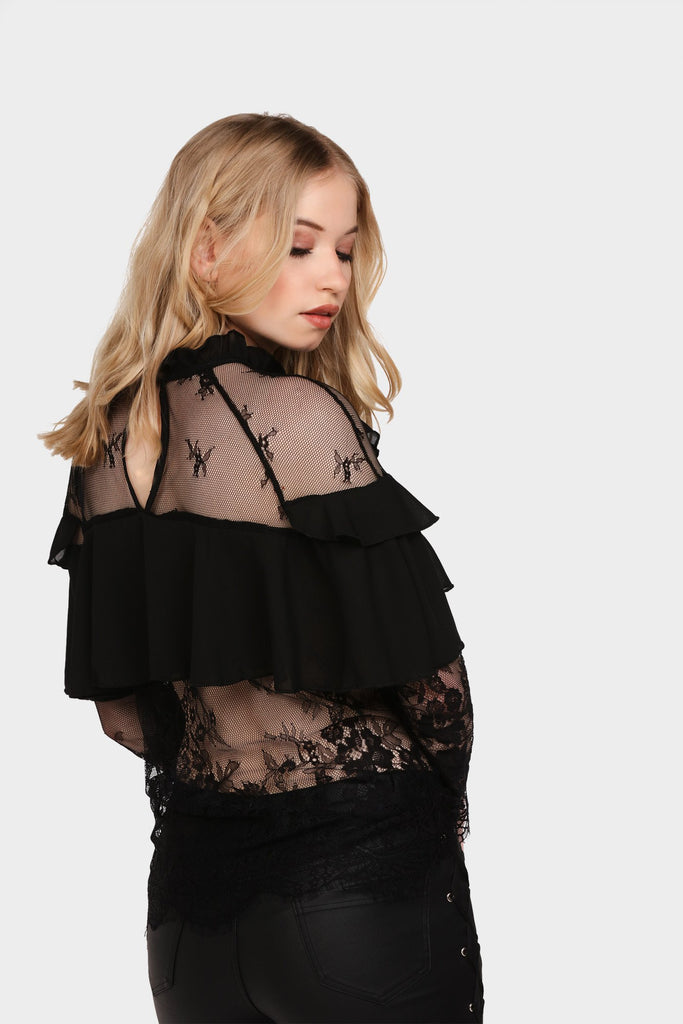 lace-frilly-top view 5