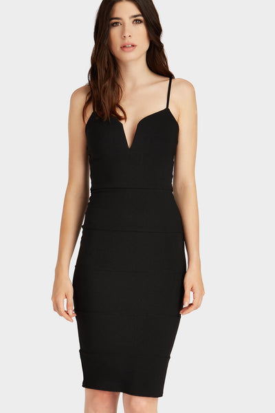 S17W-1300007041-BCK-6-v-neck-bandage-midi-dress-black-jl3233