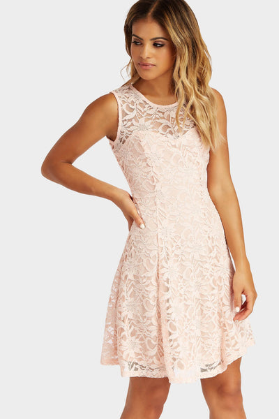 S17W-1300007053-PNK-6-lace-skater-dress-mid-pink-jl3235