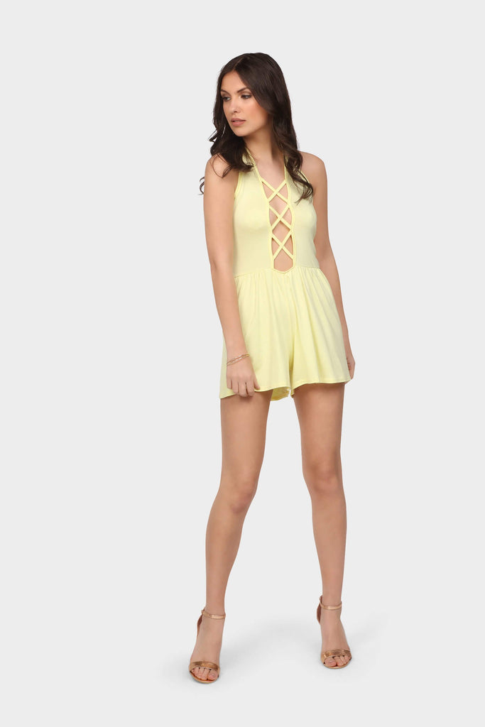 criss-cross-front-playsuit view 2